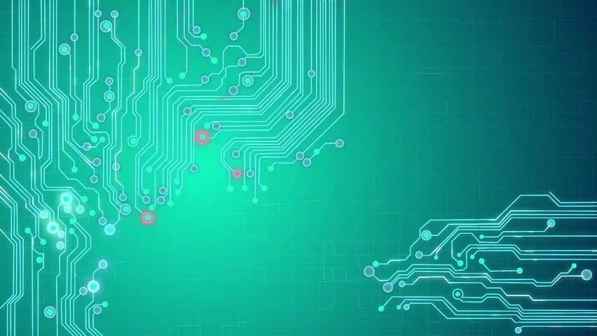 Stock video of animated printed circuit board background 1339435 - circuit design background