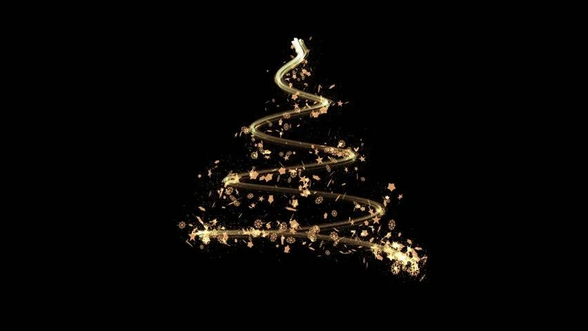 New Years Eve Wallpaper Iphone 6 Elegant Christmas Tree Made By Golden Sparkling Glitters