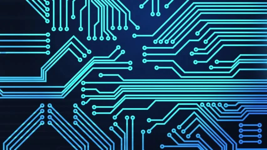 Circuit Board Animations Modern Full Stock Footage Video (100