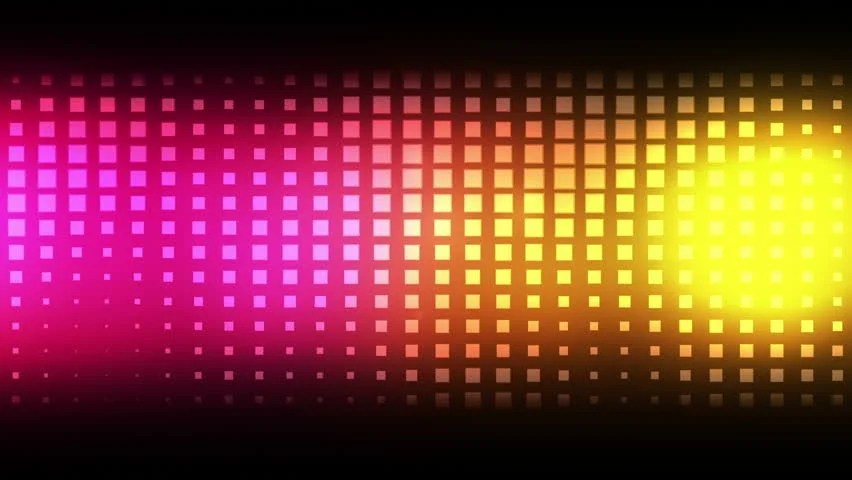 Moving Pink and Yellow Squares Stock Footage Video (100 Royalty