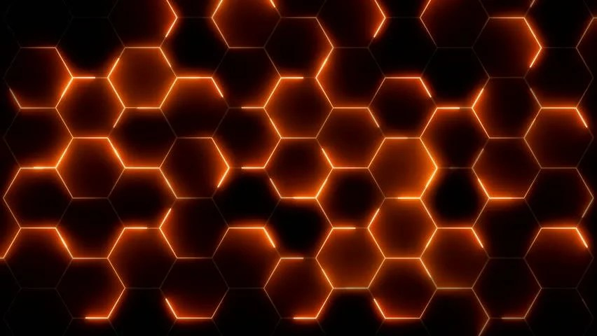 Hexagon Wallpaper 3d 3d Loop Hexagonal Motion Graphic Background 4k Resolution