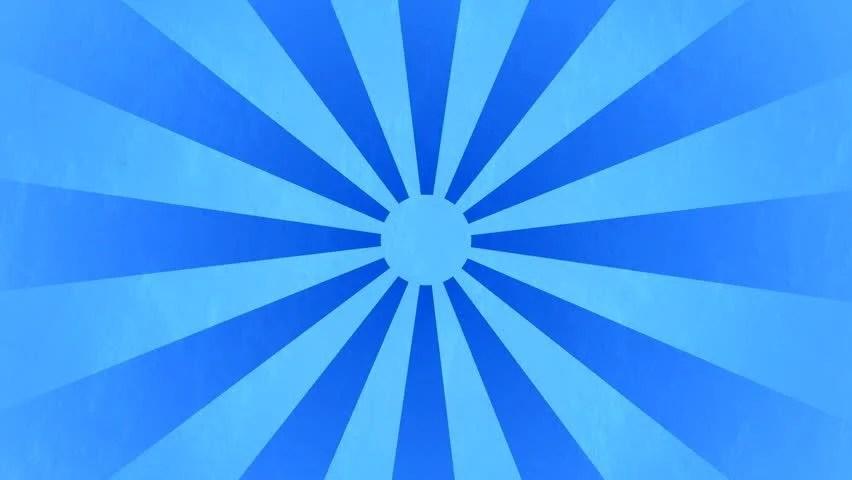 Animation Wallpaper Full Download Grunge Sunburst Blue Spinning Background Stock Footage