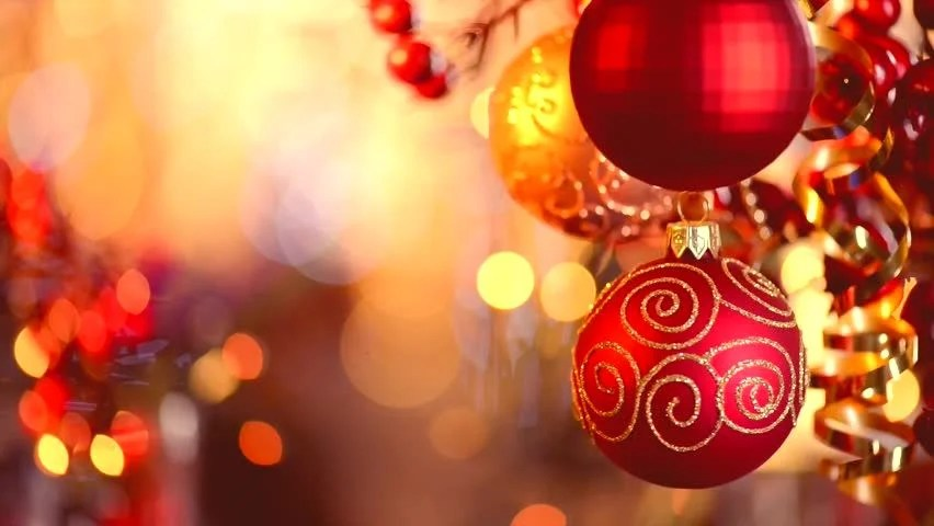 Christmas and New Year Decoration Stock Footage Video (100 Royalty