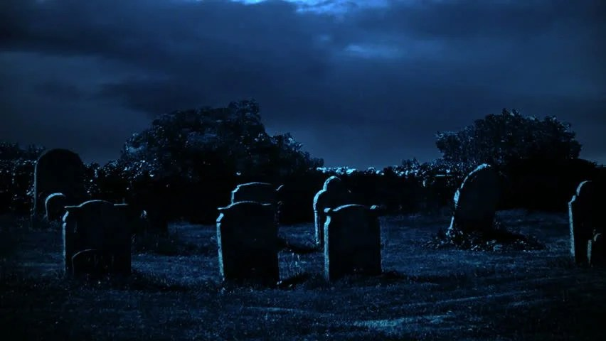 Fall Scenes Wallpaper With Pumpkins A Creepy Graveyard Halloween Background Scene With Graves