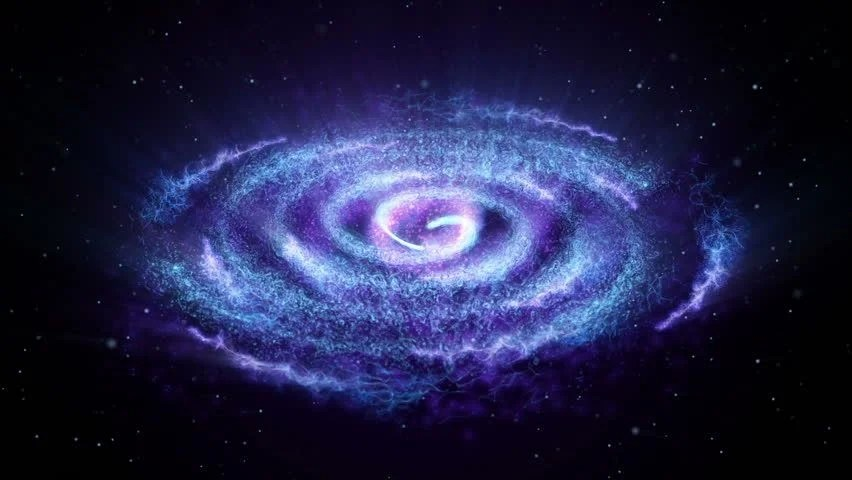 Black Hole Animated Wallpaper Spiral Galaxy Milky Way Stock Footage Video 3725084
