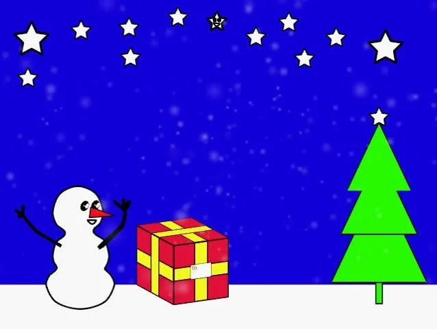 Stock video of a animated christmas scene with 9145 Shutterstock