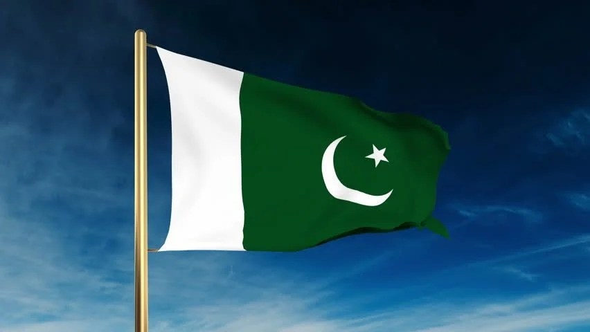 Win 10 Animated Wallpaper Pakistan Flag Waving In The Wind Green Screen Alpha