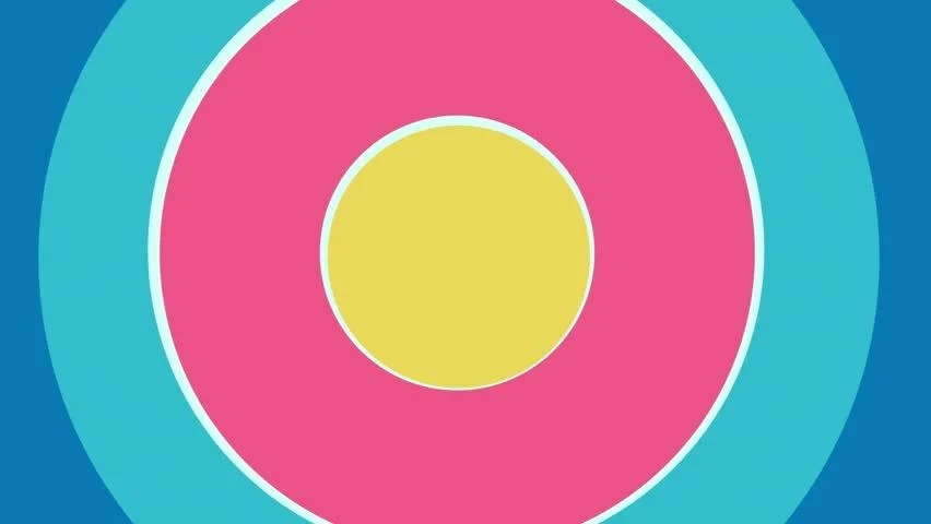 Pop up Circles Animation for Stock Footage Video (100 Royalty-free