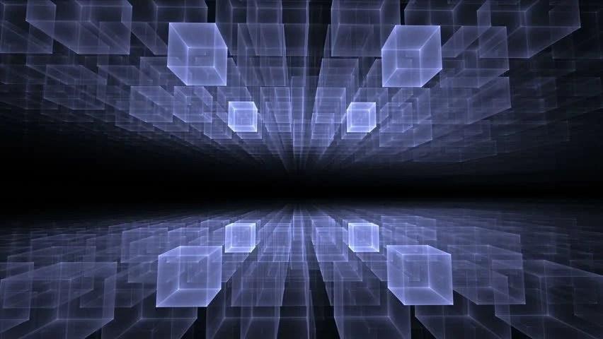 Best 3d Wallpaper Download App Science Fiction Matrix Like Blue Technology Light Grid In