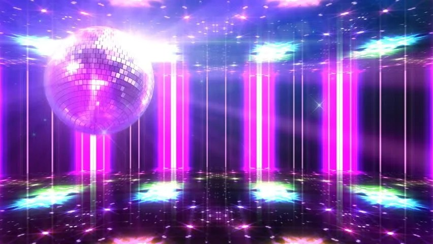 Shutterstock Wallpaper 3d Disco And Club Space Background Stock Footage Video 100