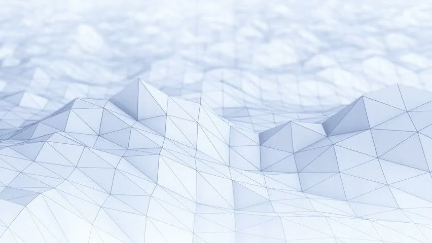 3d Diamond Live Wallpaper Abstract Polygon Background Seamless Loop Stock Footage