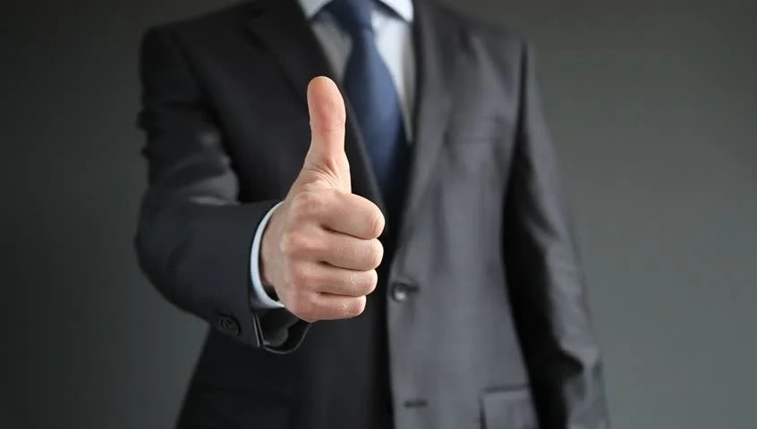 Businessman Showing Thumbs Down - Closeup Shot Stock Footage Video 4729889 | Shutterstock