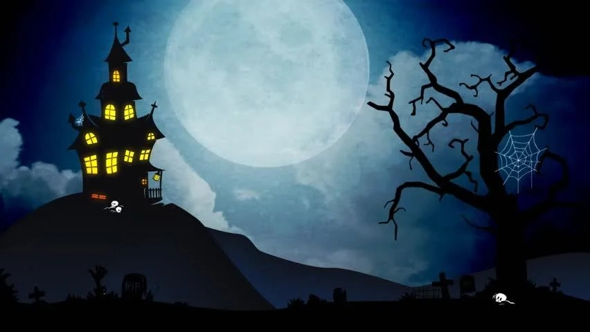 Stock video of a spooky background of a haunted 4738436 Shutterstock