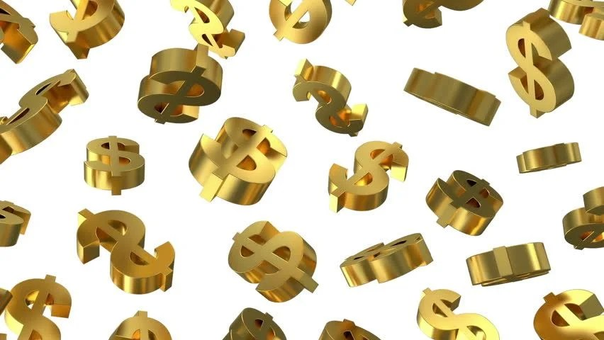 Animated 3d Wallpaper Gifs Looping Stock Video Of Animation Of Golden Dollar Signs Falling