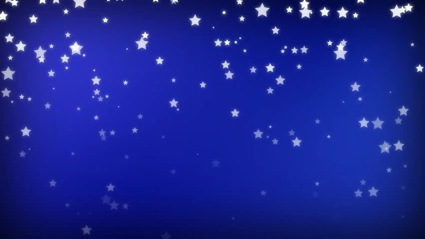Cute Doodle Wallpaper Hd Hand Sketched Cartoon Stars On A Blue Screen Background