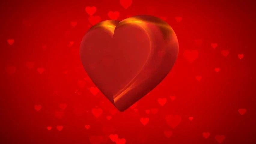 3d Moving Animation Wallpaper Download Big Moving Heart Stock Footage Video 14049887 Shutterstock