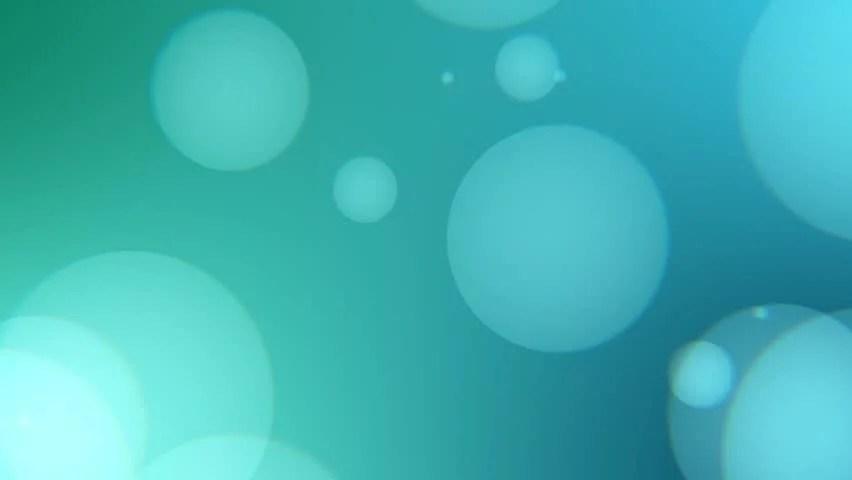 Blue Bokeh Medium Speed Hd Stock Footage Video (100 Royalty-free