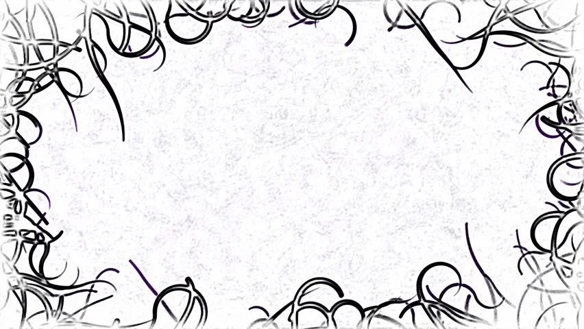 Black Vines Border Background Animation Stock Footage Video (100  Royalty-free) 13013147 Shutterstock