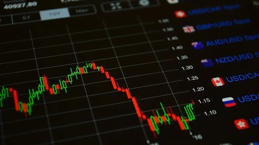 Forex Currency Exchange Market Currency Stock Footage Video (100