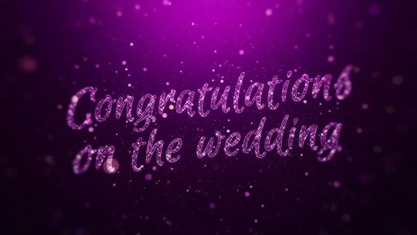 hd0020Gift animation card with words of congratulations with