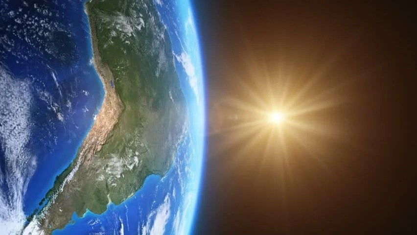 3d Wallpaper Solar System Beautiful Sunrise Over Brazil Seen From Space More