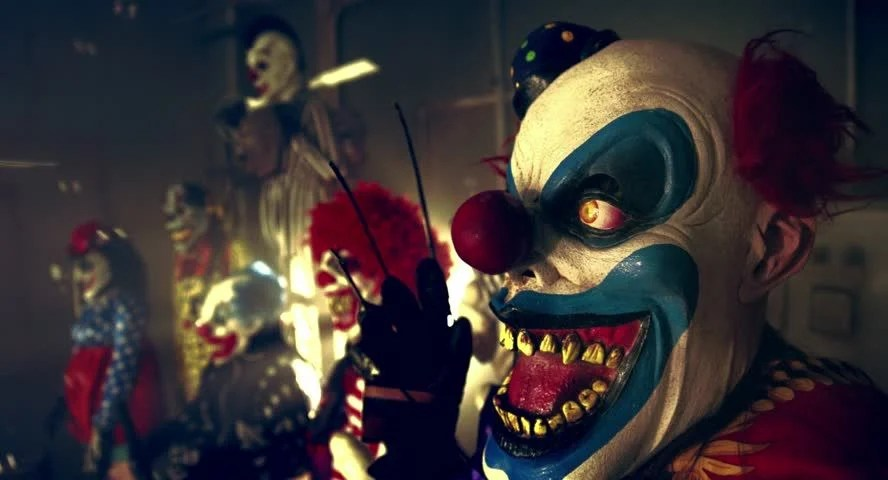 Corpse Party Wallpaper Hd Halloween Party Horror Clowns The Scary Clown Standing In
