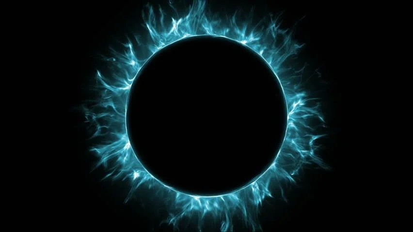 Fancy Black Hole in a Stock Footage Video (100 Royalty-free