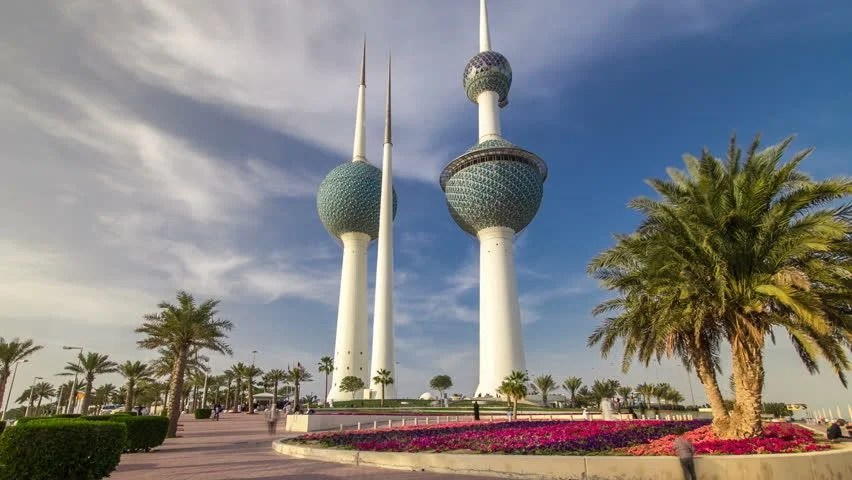Sea Hd Wallpapers 1080p The Kuwait Towers Day To Night Timelapse Hyperlapse The