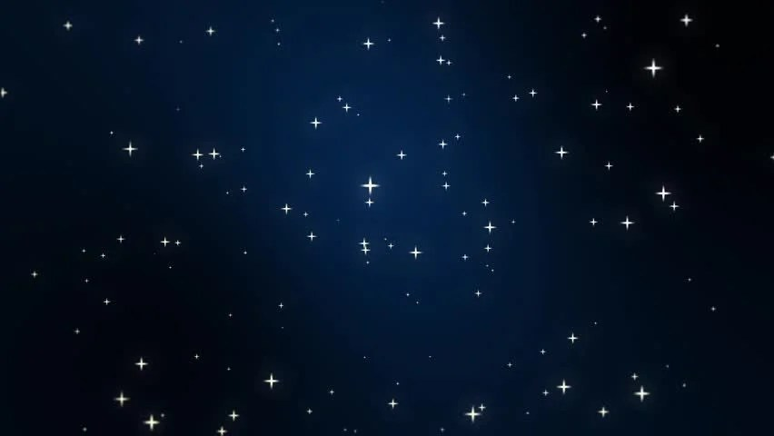 Falling Glitter Confetti Wallpapers Night Sky Full Of Stars Animation Made Of Sparkly Light