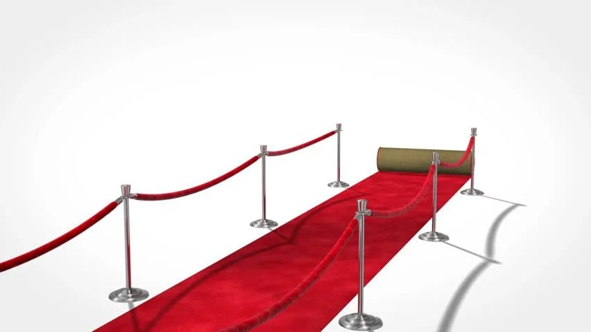 Roll Out The Red Carpet Stock Footage Video 100 Royalty