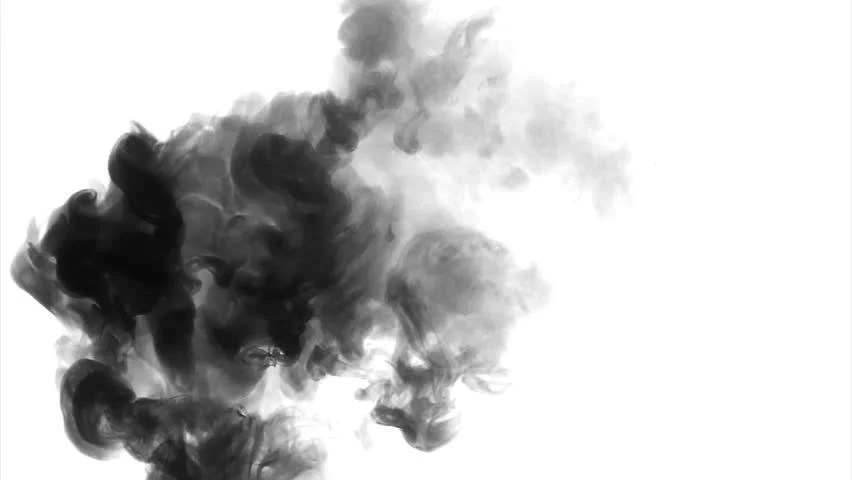 Mlg Hd Wallpaper Black And Grey Cloud Smoke Ink On Water On White
