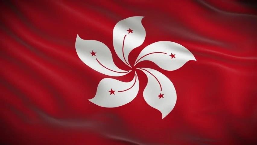 Shutterstock Wallpaper 3d Flag Of Hong Kong 3d Wallpaper Illustration National