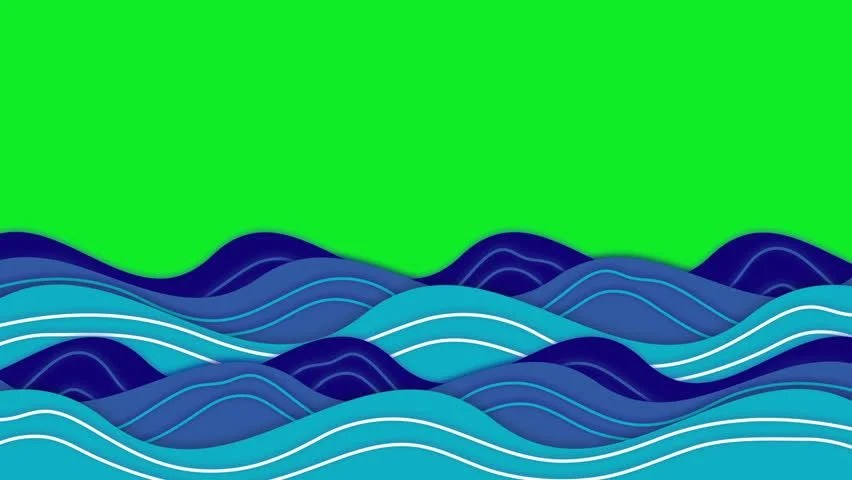 Animation of Ocean Waves Moving Stock Footage Video (100 Royalty - ocean waves animations