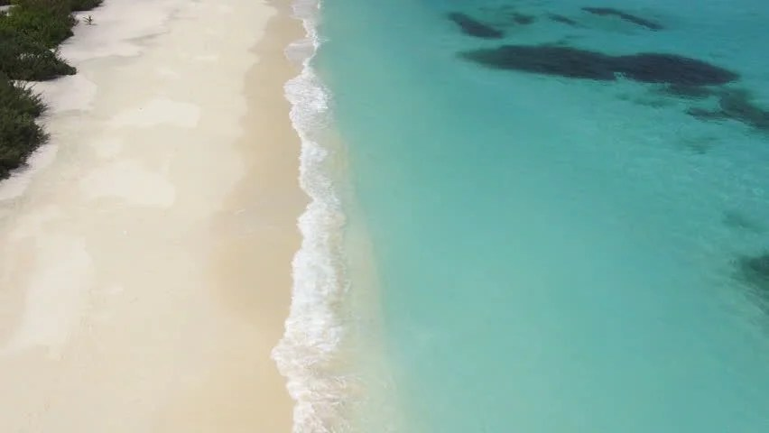 Tropical Ocean 3d Live Wallpaper Stock Video Of Aerial View Tropical Lagoon Waves And
