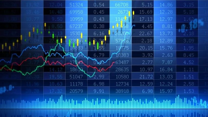 Wall Street Bull Wallpaper Hd Stock Market Trend Of Animation Stock Footage Video