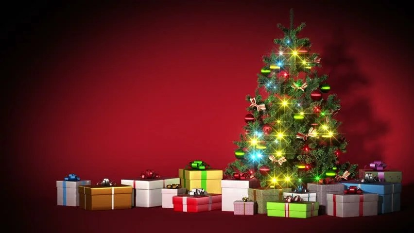 New Years Eve Wallpaper Iphone 6 Stock Video Of Beautiful Christmas Tree With Gifts And