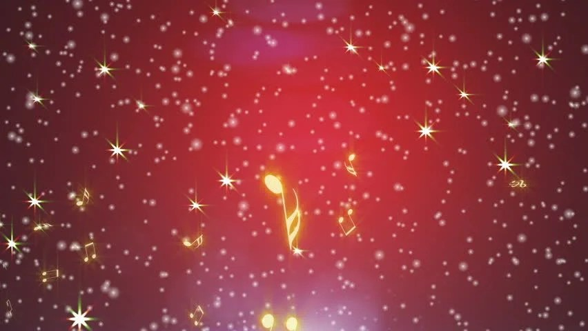 Christmas Falling Snow Wallpaper Note 3 Stars Background Gold Stock Footage Video 1778003