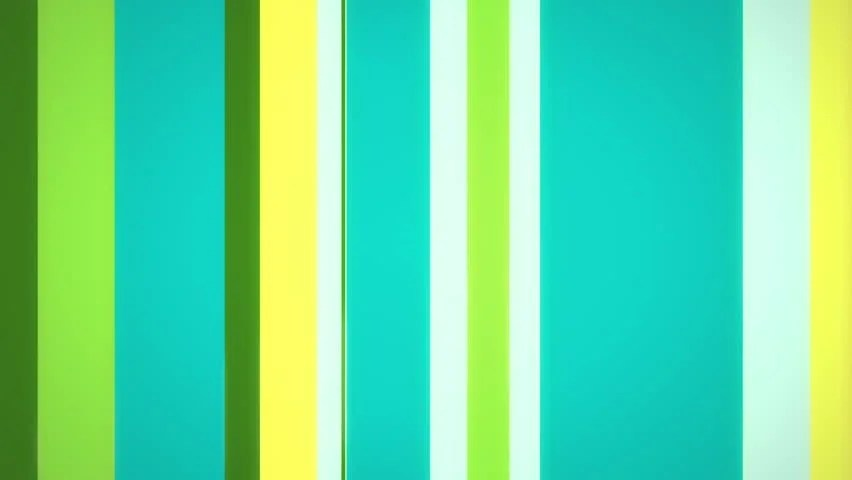 Color Stripes 4 - Moving Stock Footage Video (100 Royalty-free