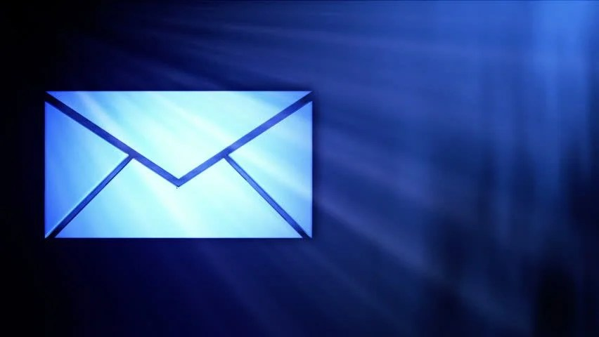 Stock video of blue mail icon in sparkle shine 745738 Shutterstock - mail background
