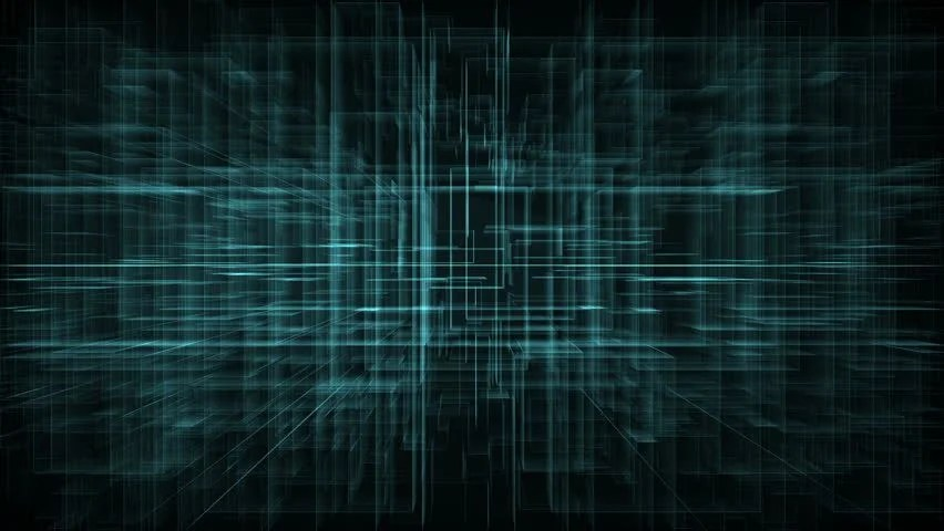 Doctor Who Animated Wallpaper Blue Ecg On Black And Blue Moving Digital Grid Background