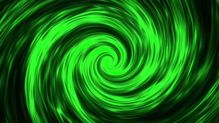 Animated Dj Wallpaper Dark Green And Light Green Mixed Swirl Shape With Centered