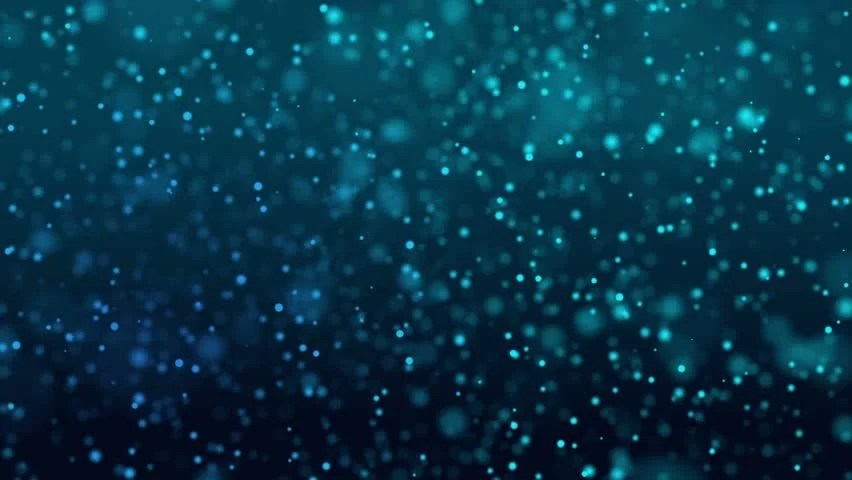 Falling Snow Animated Wallpaper Dust Particles Bokeh Background Gold Stylish Glowing