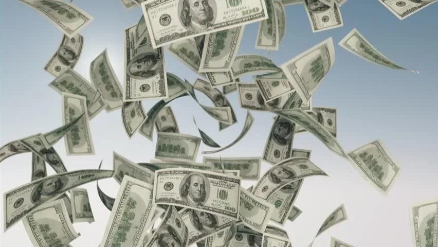 Falling Money 3d Wallpaper Falling Money Us Currency Stock Footage Video 5200475