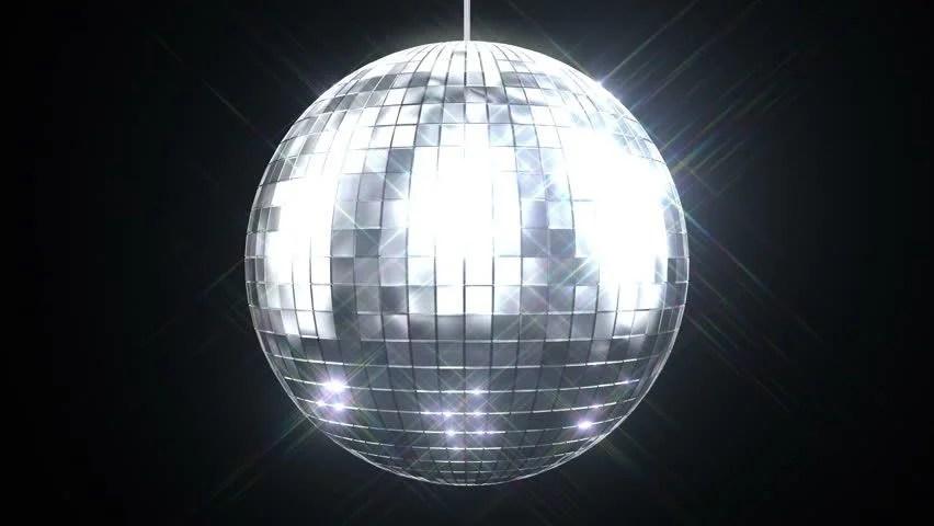 Good Morning Animation Wallpaper Disco Dance Floor Background Loop Stock Footage Video