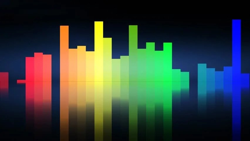 3d Abstract Rainbow Wallpaper Abstract Cgi Motion Graphics And Animated Background Of