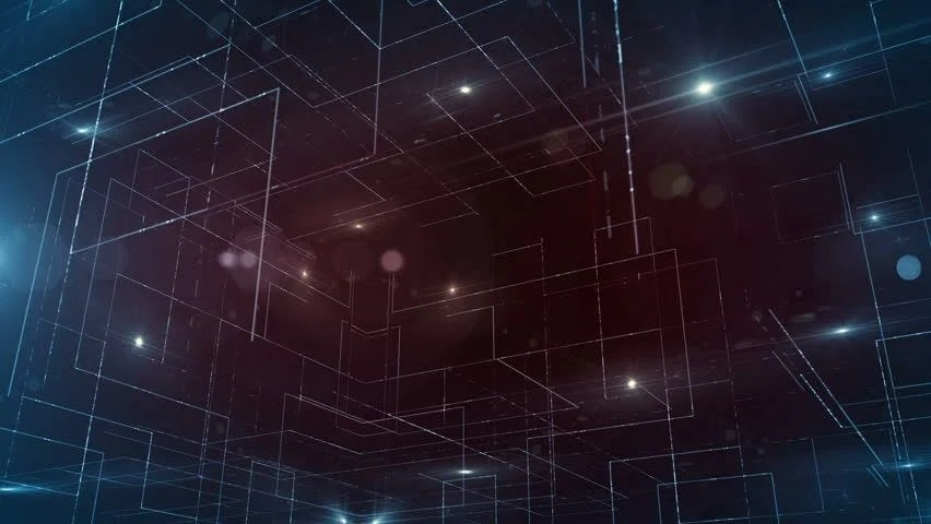 3d Cube Live Wallpaper Download Stock Video Clip Of Digital Data Technology Numbers
