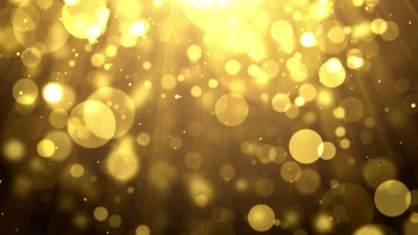 Falling Glitter Wallpaper Particles Gold Glitter Award Dust Stock Footage Video 100