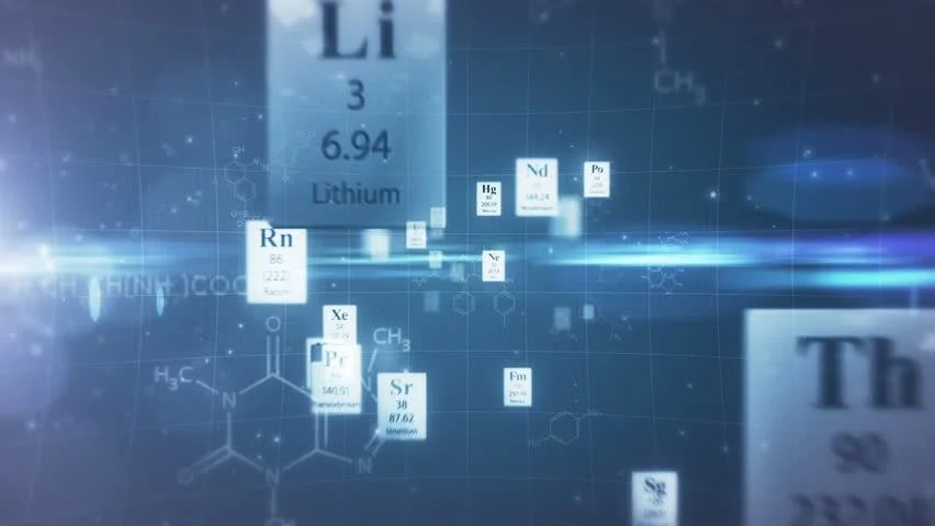 Shutterstock Wallpaper 3d Scientific Background Through The Elements Of Periodic