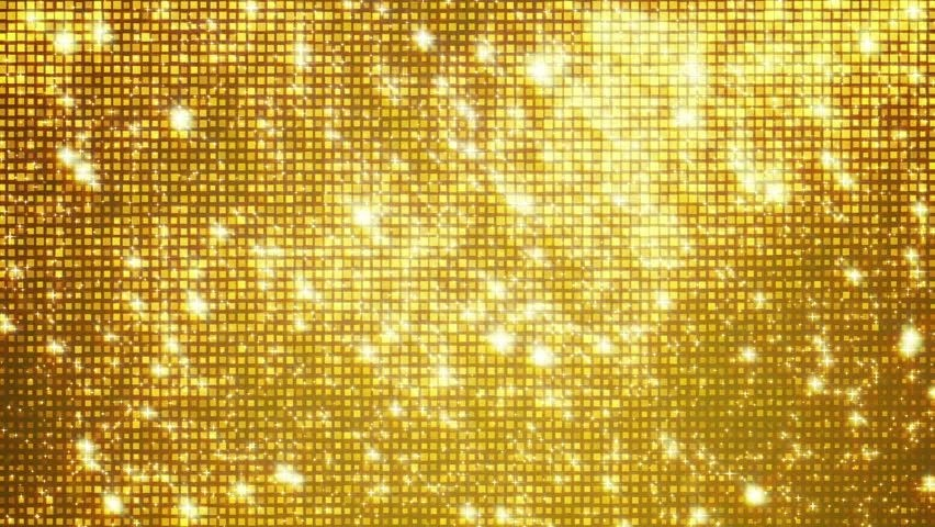 Falling Gold Sparkles Wallpaper Golden Reflectors And Sparkles Seamless Looping Stock
