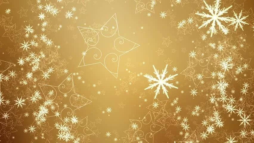 Falling Snow Live Wallpaper For Iphone Stock Video Clip Of Snowflakes And Stars Slowly Fall